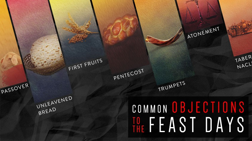 Common objections to feast days holy days
