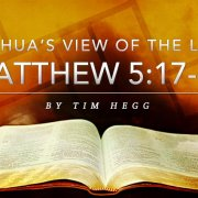 Matthew 5:17-20 Tim Hegg