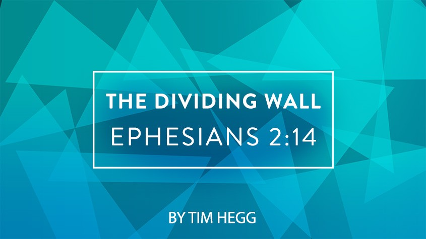 The 'Dividing Wall' in Ephesians 2:14